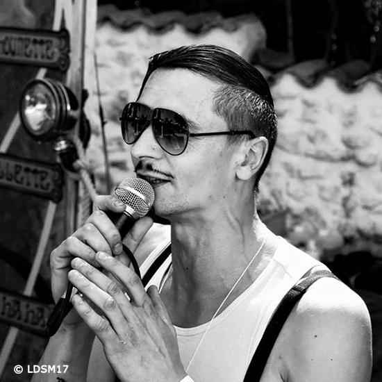 Marcus Martoche au Festival Cagouilles & Cie – crédit LDSM17